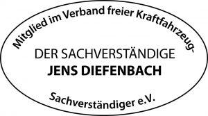 KFZ Sachverständige Jens Diefenbach ist Mitglied im Verband freier Kraftfahrzeug Sachverständiger e.V.